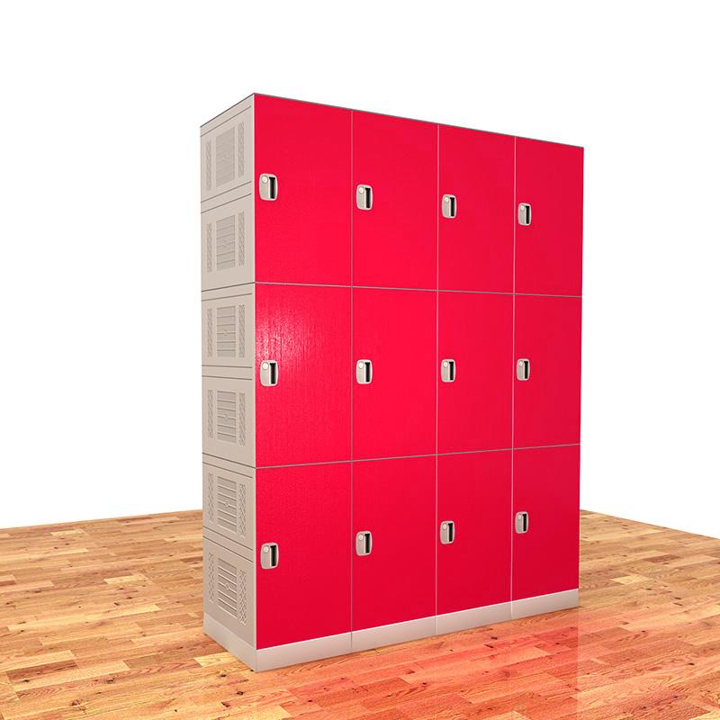 School lockers /  gym lockers  / plastic bookbag locker EL600-04