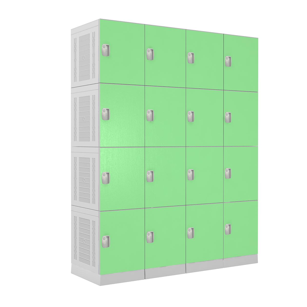 China plastic lockers / school  lockers / gym lockers / plastic spa locker  EL450-03