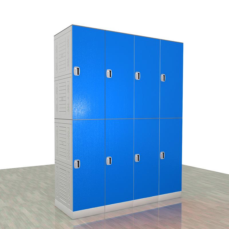 plastic laundry locker /  gym lockers  / plastic modular lockers EL900-01