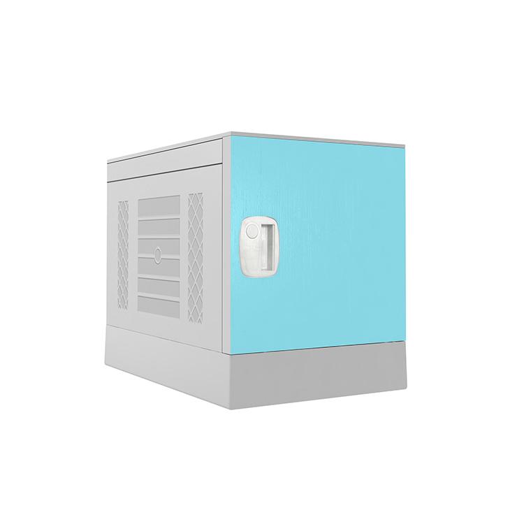 Plastic Locker _ ABS Locker _ School locker-Blue