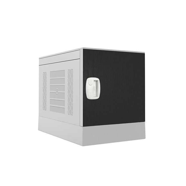 Plastic Locker _ ABS Locker _ School locker-Dark gray