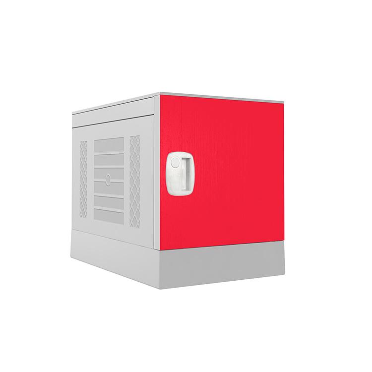 Plastic Locker _ ABS Locker _ School locker-Red