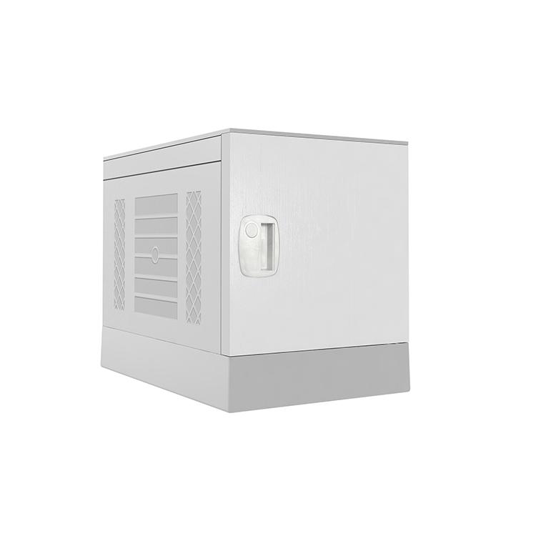 Plastic Locker _ ABS Locker _ School locker-Gray