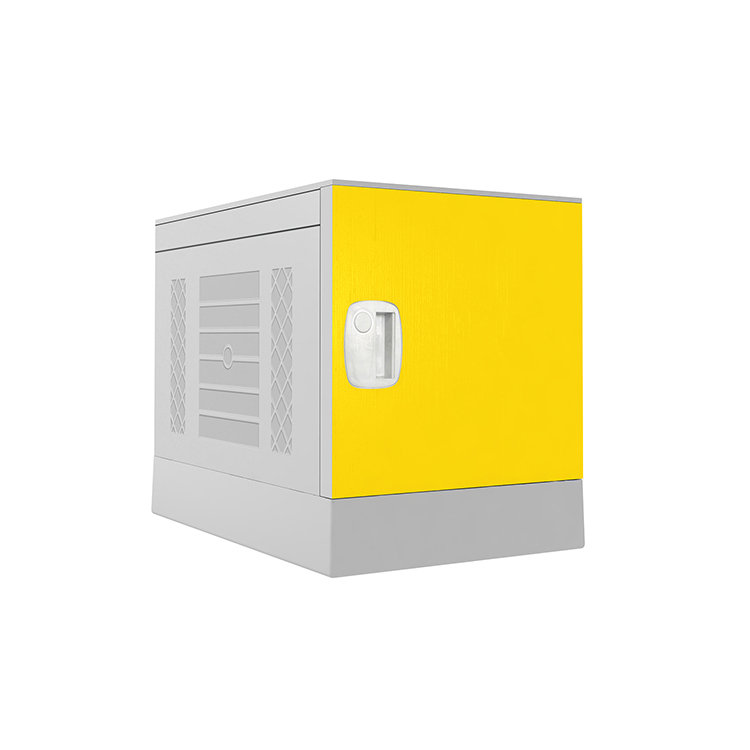 Plastic Locker _ ABS Locker _ School locker-Yellow