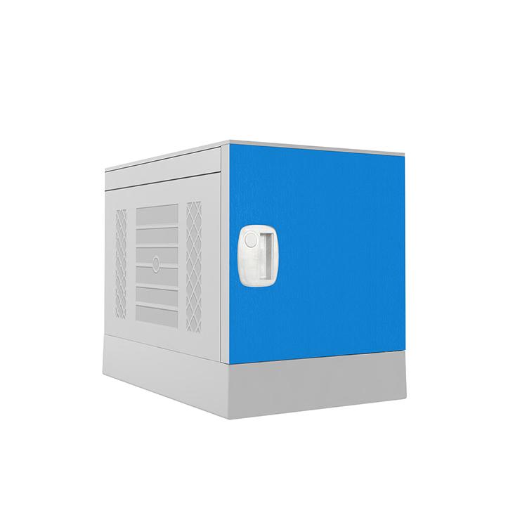 Plastic Locker _ ABS Locker _ School locker-Dark blue
