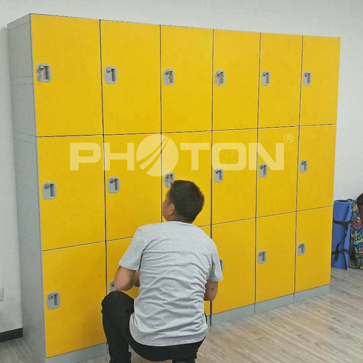 School lockers /  gym lockers  / plastic office locker EL600-07