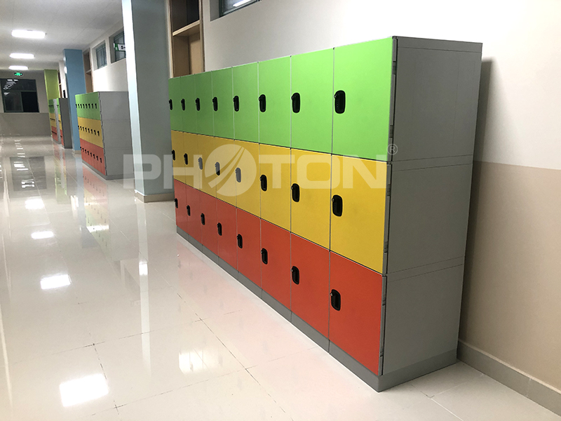 China top ABS plastic electronic smart gym school locker