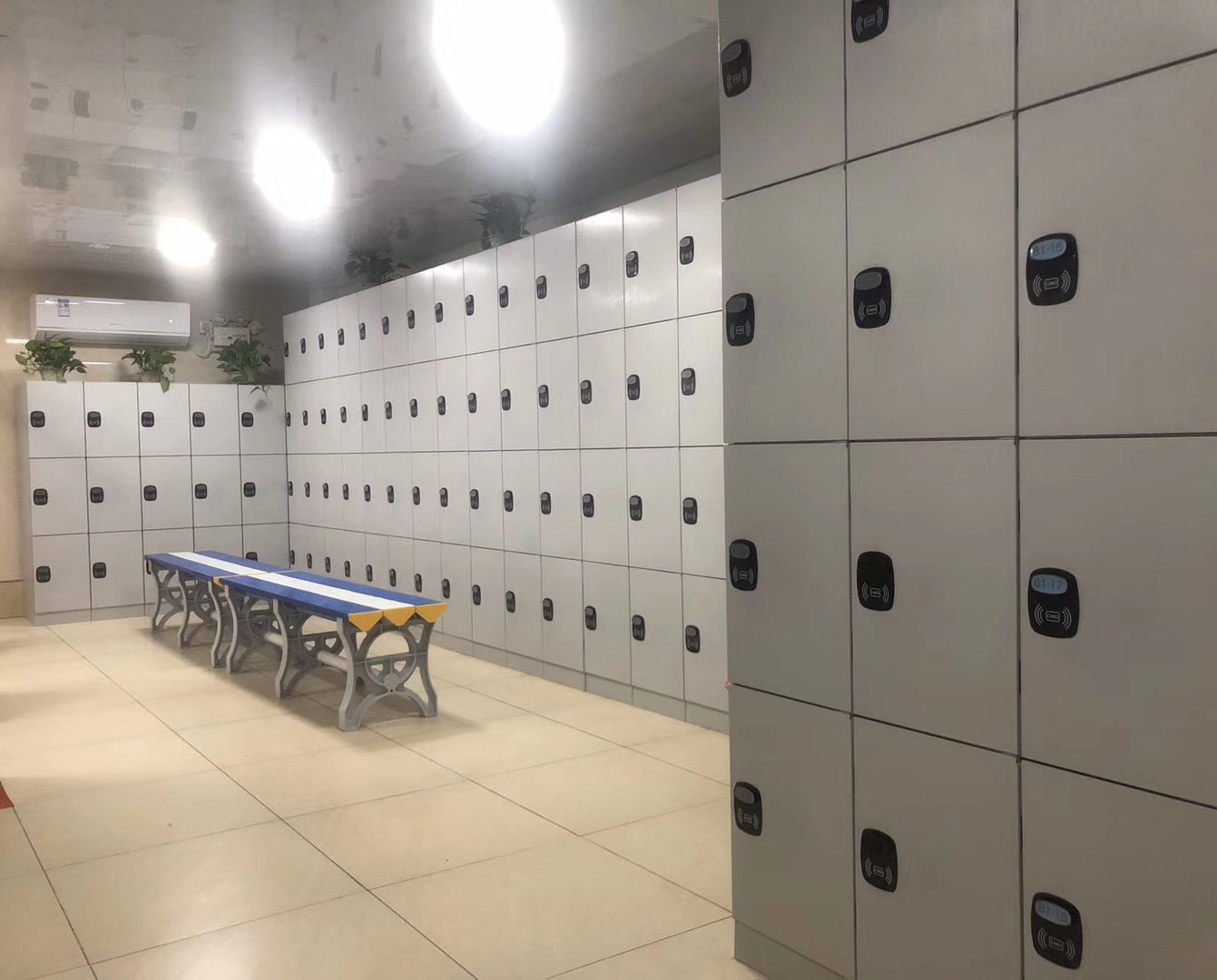 ABS lockers/smart locker /  gym lockers  /plastic locker EL450